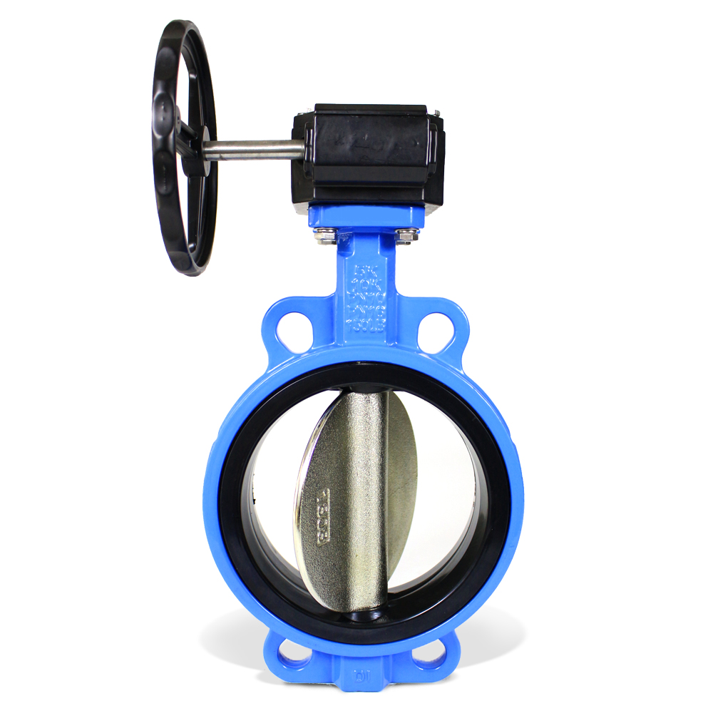 DI Body  Wafer type butterfly valve