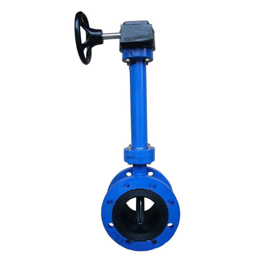 Extension Spindle Flange Butterfly Valve