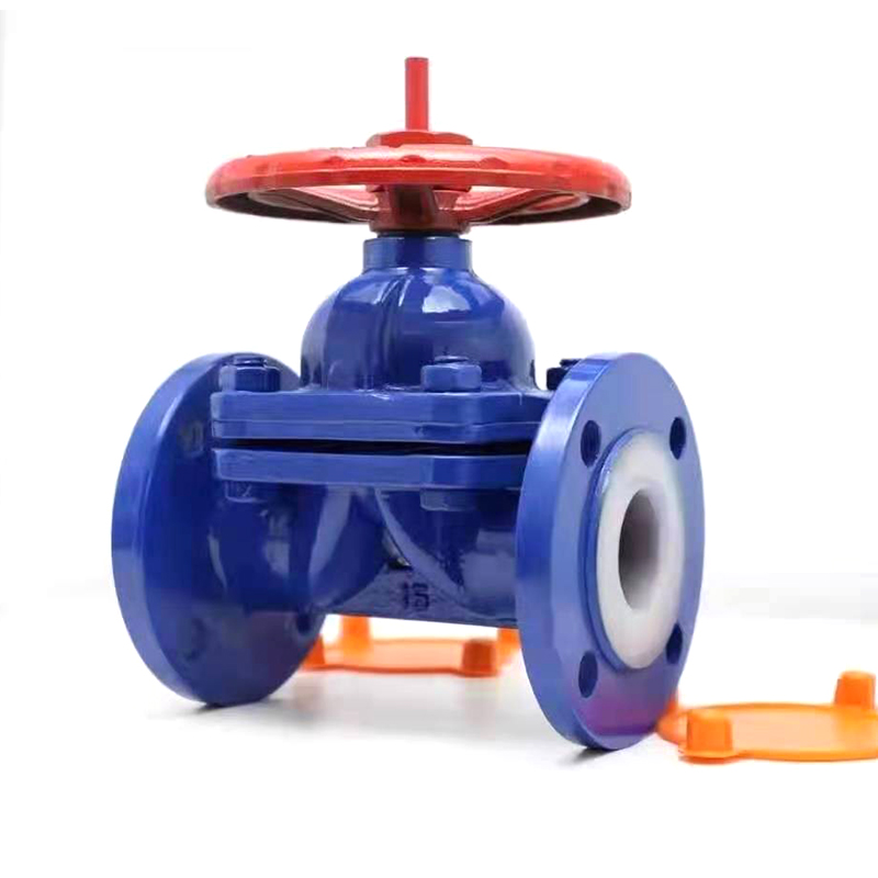 PTFE Lined weir diaphragm valve